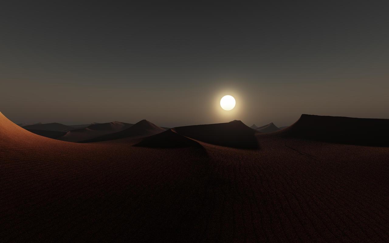Dunes by relhom