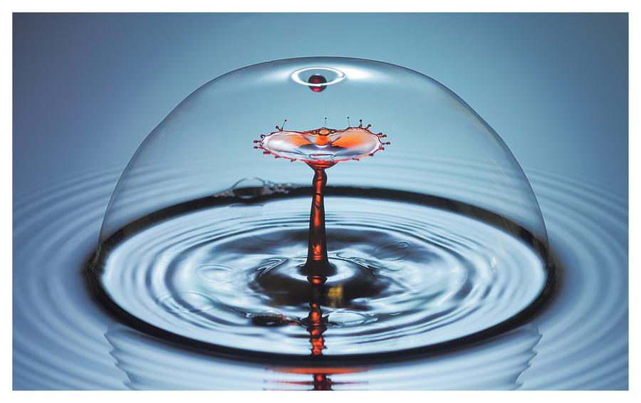 Bubble drop