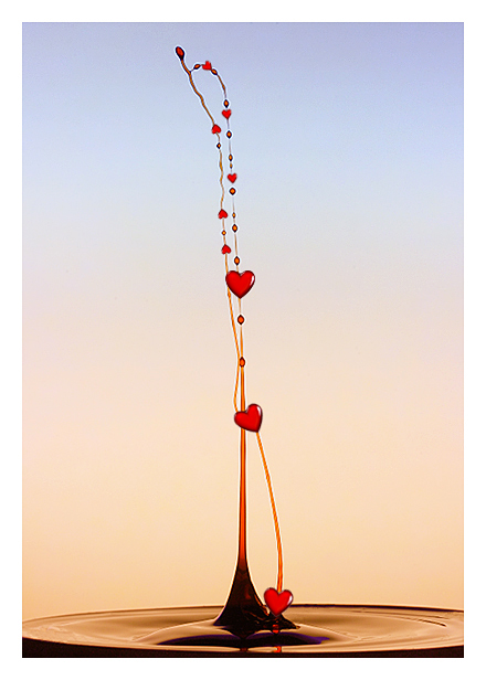 Valentine drop by relhom