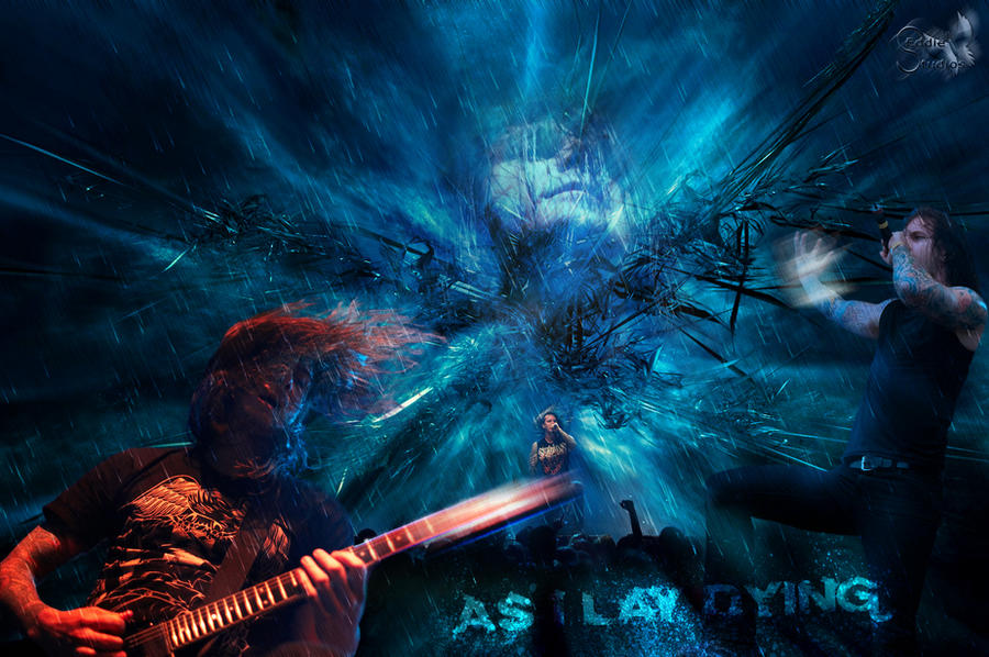 As I Lay Dying - Wallpaper by ~EdwardEnglish on deviantART