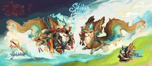 [Guest Auction!] Skyblaze Corsair [OVER]