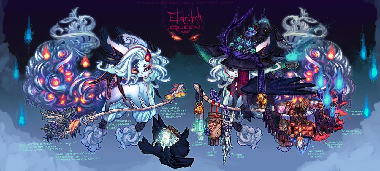 [Elnin] Eldritch Queen - [OVER! Happy Hallowen!] by manaberry