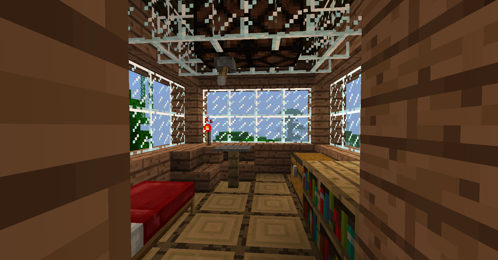 minecraft tree house the bedroom by trancendency on deviantart