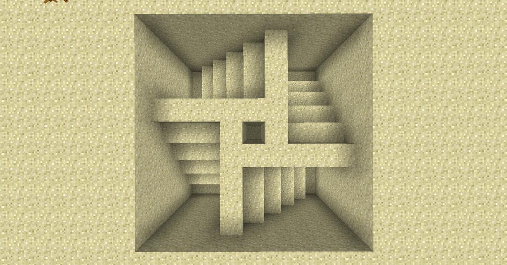 Minecraft Sand Art - Aztec Spiral by Trancendency on DeviantArt