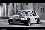 Peugeot 205 Drift machine