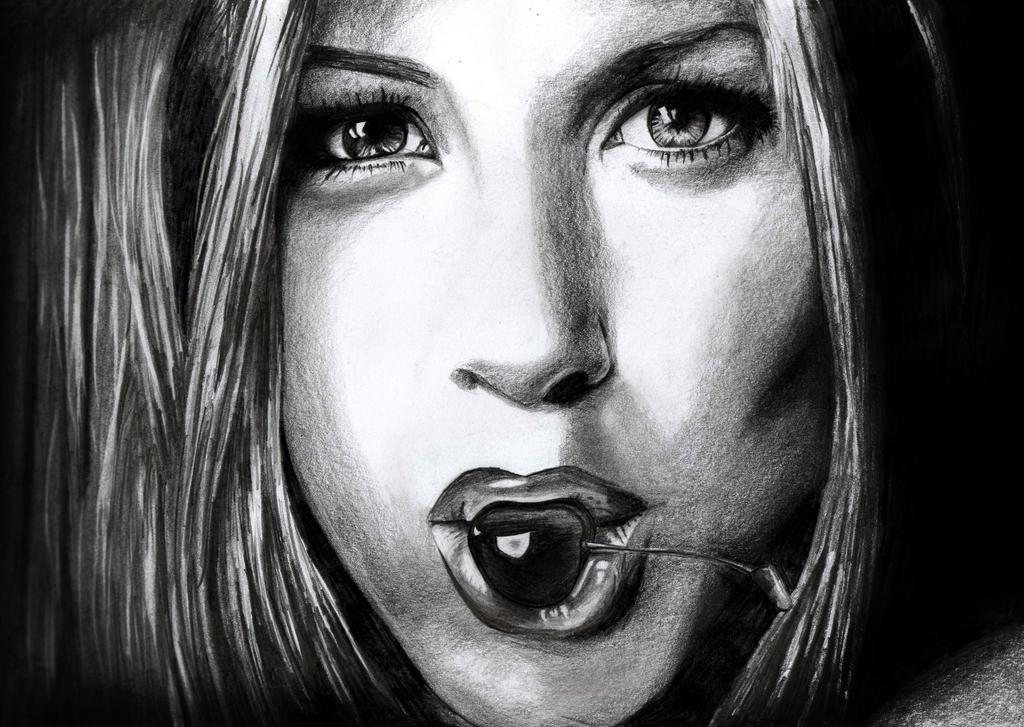 Sweet cherry- Jennifer Aniston by CptDesign