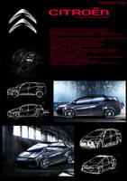 Citroen concept project by CptDesign