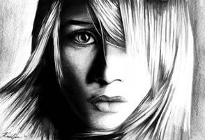 Ashley Olsen Portrait by CptDesign