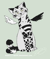 Cat adoptable *based used* by XxSkelly-BooxX