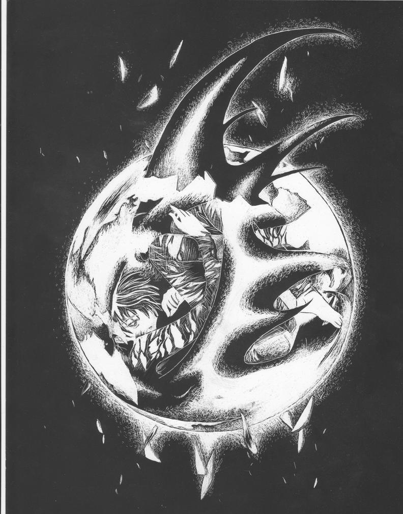Kamui X 1999 Scratch Art By Kaeldri