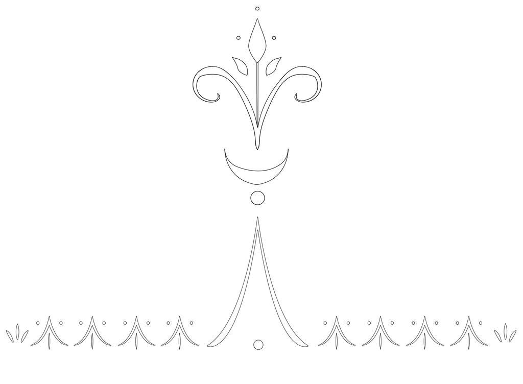 Elsa Glove Designs Outline by Kaeldri