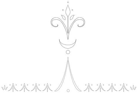 Elsa Glove Designs Outline