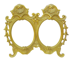 Vintage mirror frames by MihaelaJoeDesigns