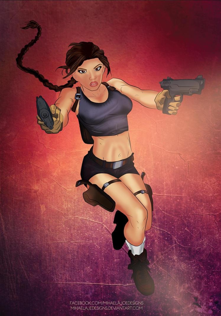 My Lara Croft by MihaelaJoeDesigns