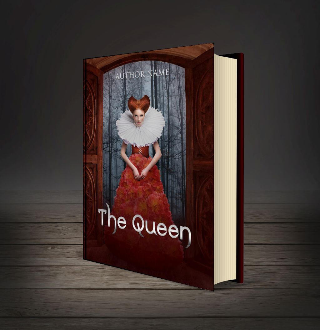 The Queen - book cover by MihaelaJoeDesigns