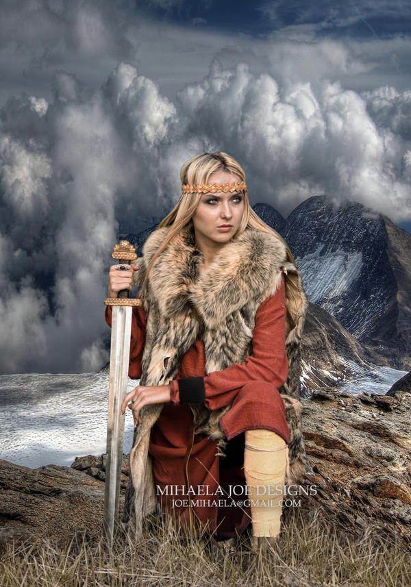 The Shield Maiden by MihaelaJoeDesigns