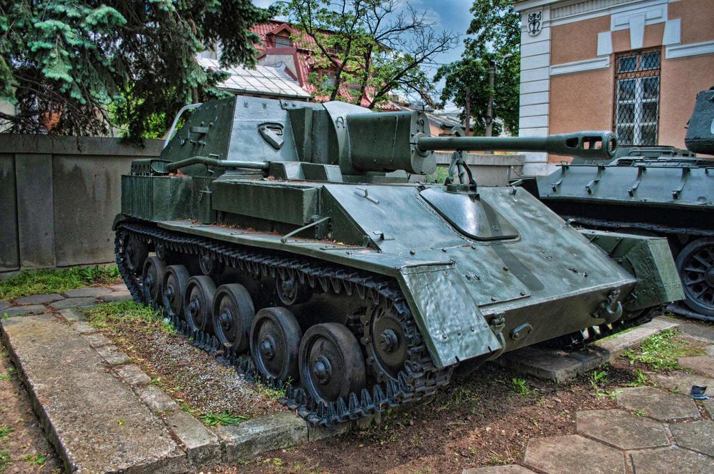 SU-76 by MihaelaJoeDesigns