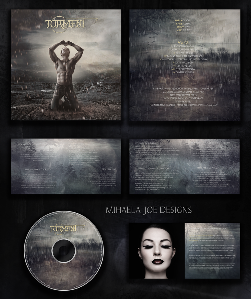 Music album cover - available by MihaelaJoeDesigns