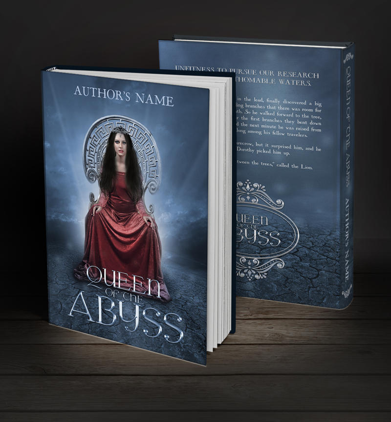 Simple Book Cover Queen : Book cover available queen of the abyss by