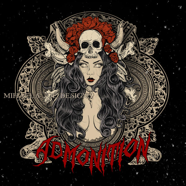 Metal album cover - Admonition by MihaelaJoeDesigns