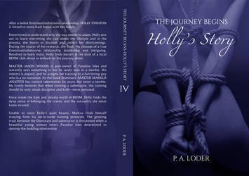 Holly's Story - Book Cover by MihaelaJoeDesigns