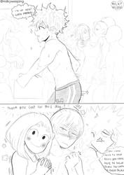 A comic I made for S3EP1 of BNHA!