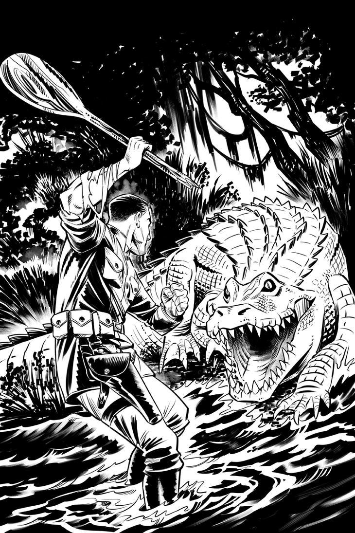 SwampMagic cover bw by GeorgeSellas by GeorgeSellas