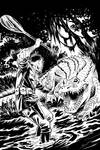 SwampMagic cover bw by GeorgeSellas