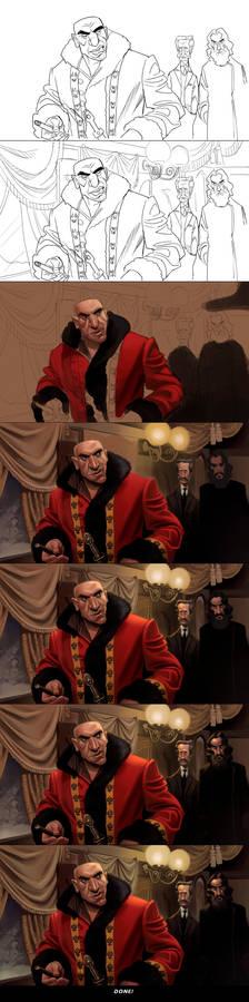Horror Express: Captain Kazan Steps