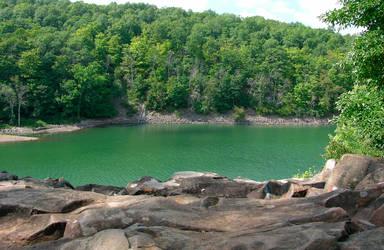 Merimere Reservoir by GeorgeSellas