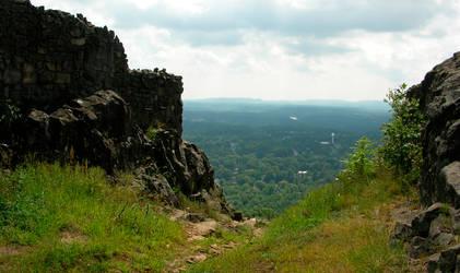 Castle Craig Cliffs by GeorgeSellas