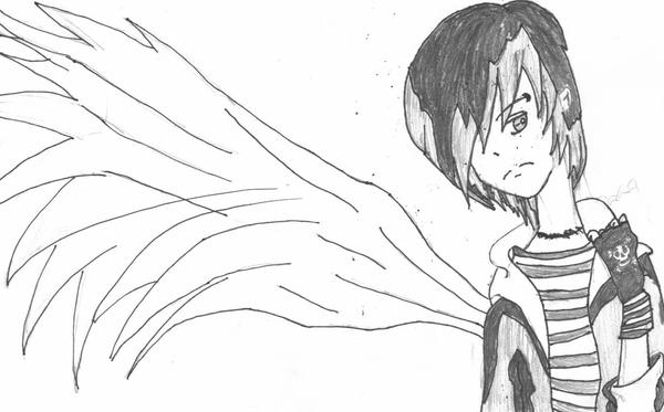 wallpaper emo angel. wallpaper emo angel.