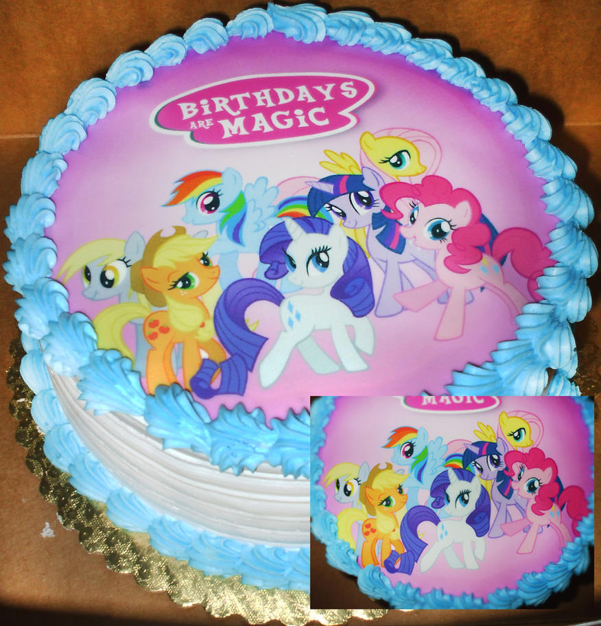 Sheet Cakes My Little Pony Birthday