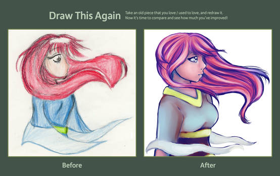 Draw it again meme: Sorrow