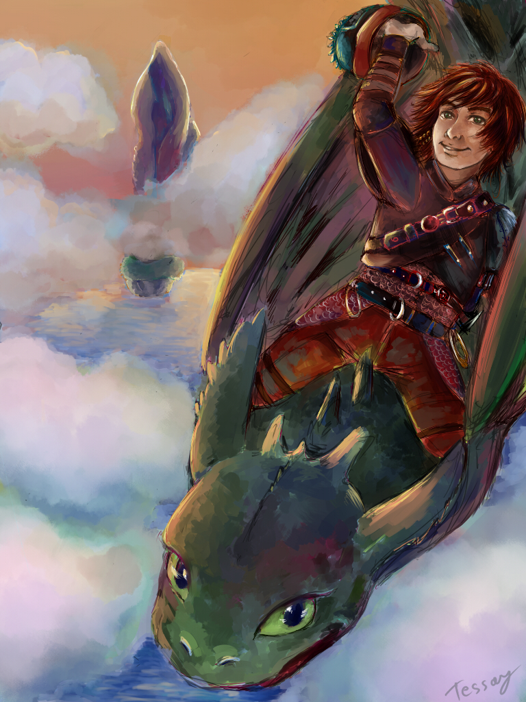 HTTYD2: High in the sky by Tessay