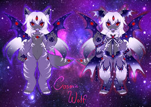 Cosmic Wolf Adoptable - Closed!