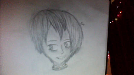 a sketch from school .o. by AzzureBug