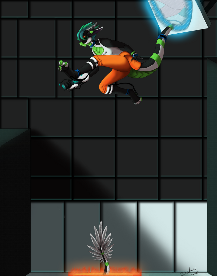 A Long Jump by LadyDistort