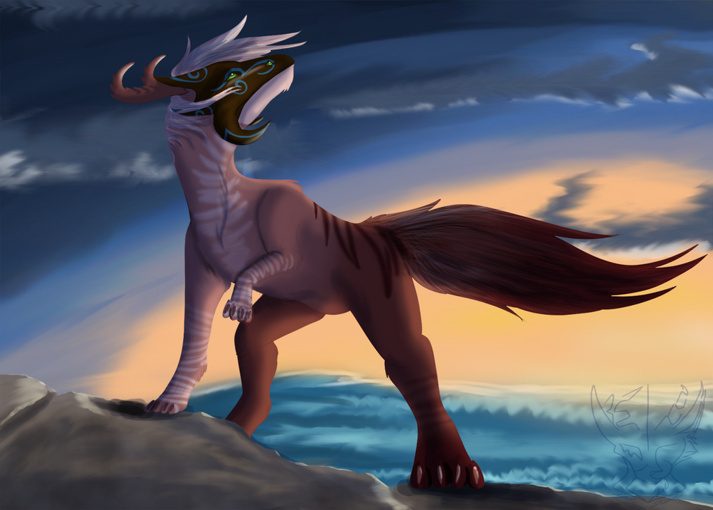 Laetitcia by the Sea by LadyDistort