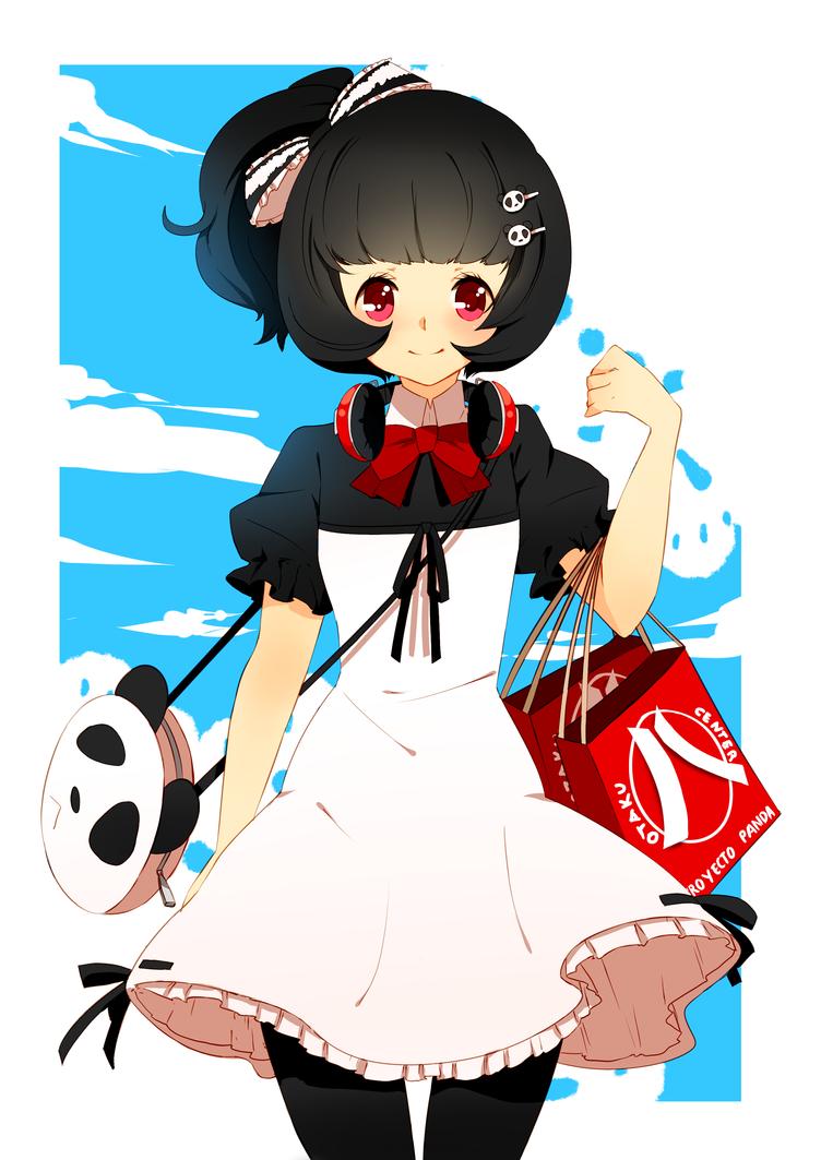 Panda girl by Ai-wa
