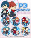 P3 button set by Ai-wa