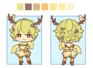 Adopt- Deer girl