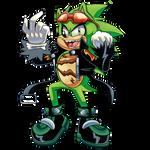 That one hedgehog named Scourge by RadicShonics