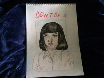 Mia Wallace by averagearthoe