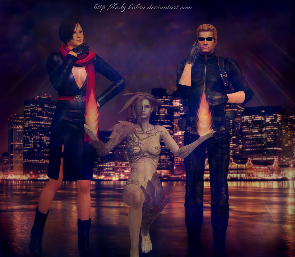 The infernal trio. by ladykobra