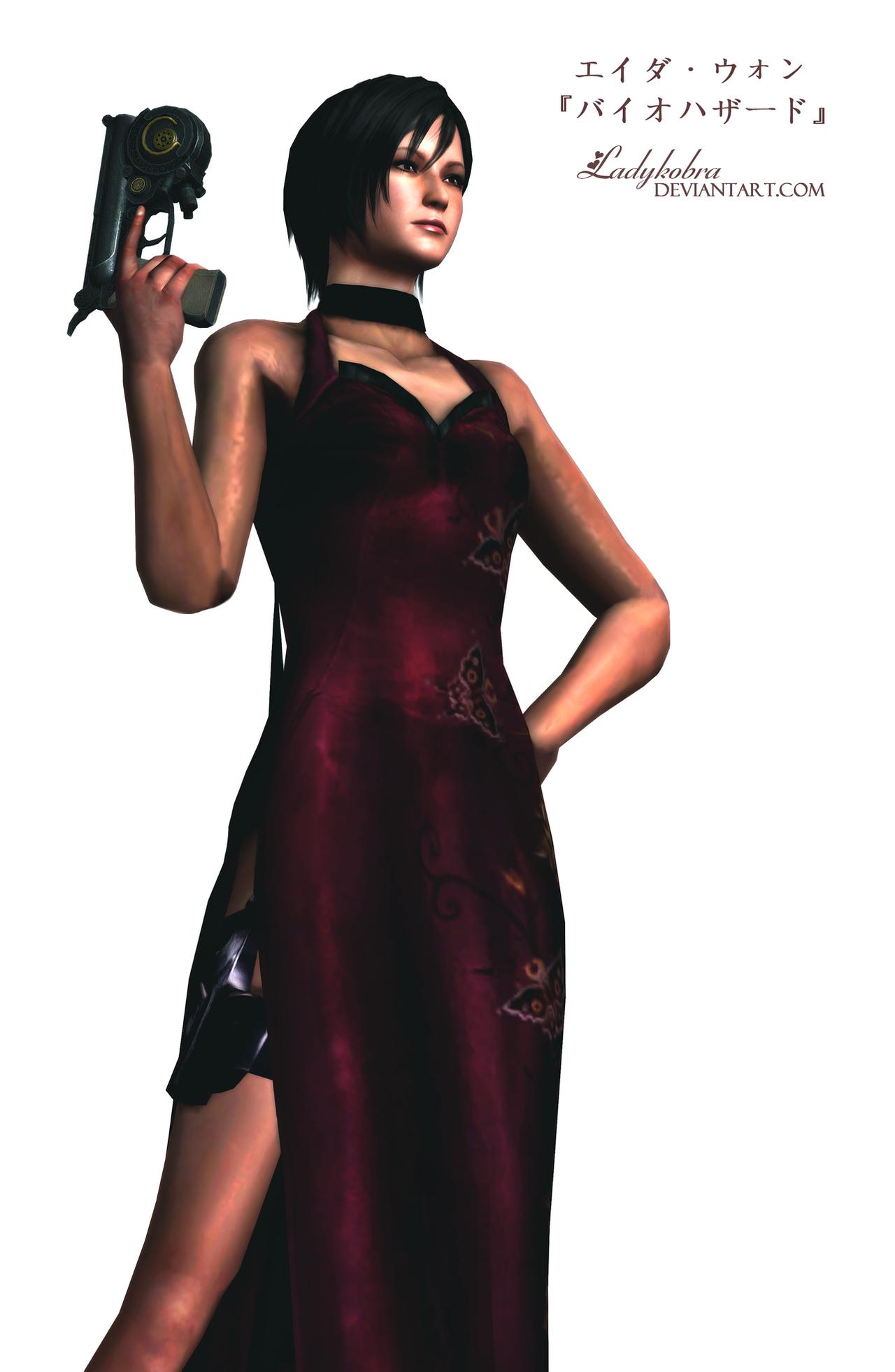 Ada Wong -Render 3- by ladykobra