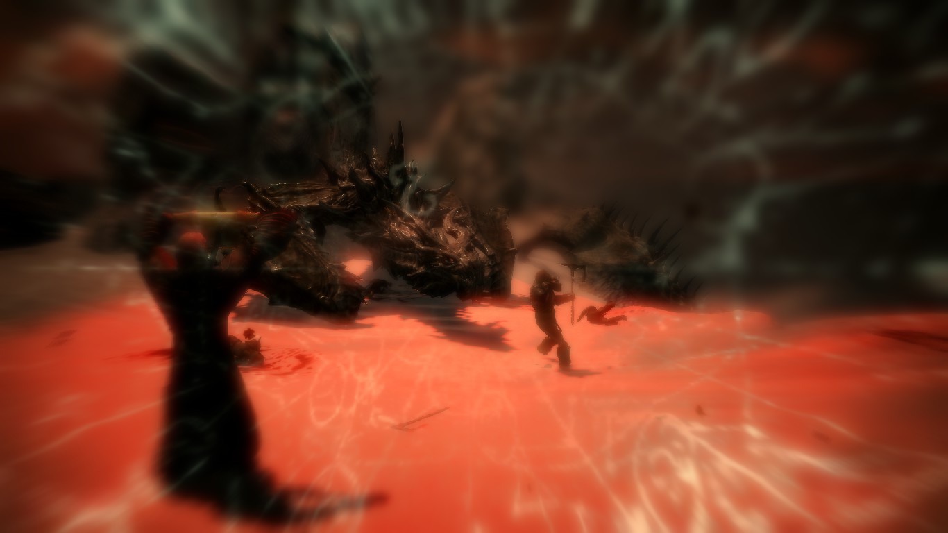 Skyrim: Banishing of Alduin by FlygonPirate