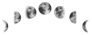 Moon Phase Tattoo