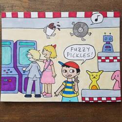 Fuzzy Pickles 18 by ferret-250