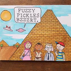 Fuzzy Pickles 27 by ferret-250